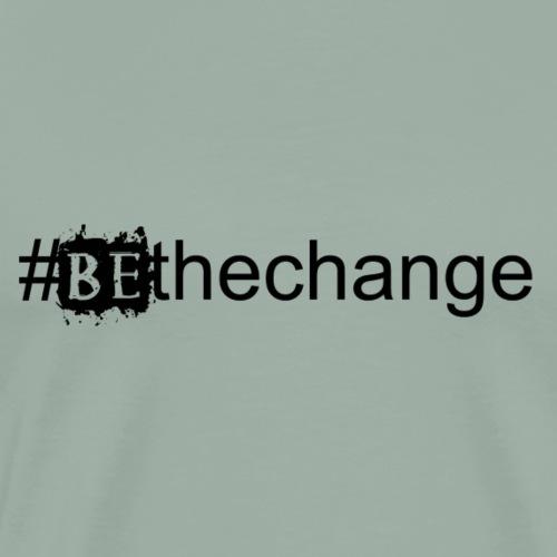 bethechange - Men's Premium T-Shirt