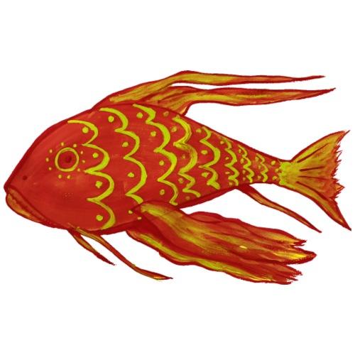 Aquarium Red Fish - Men's Premium T-Shirt