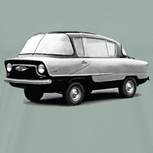 Vintage Soviet Muscle Car - Men's Premium T-Shirt