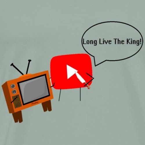 Youtube alpha race - Men's Premium T-Shirt