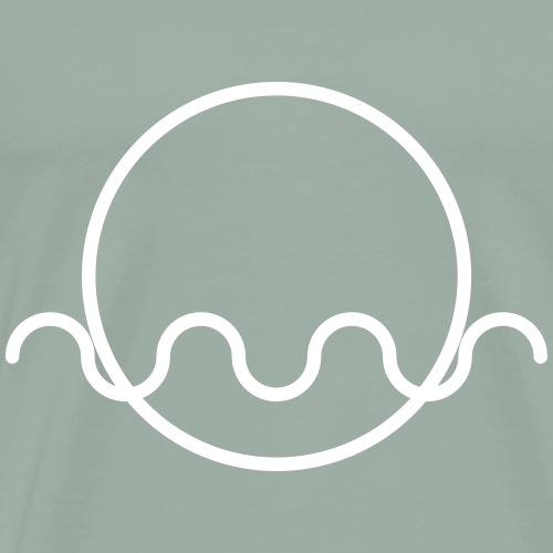 AVATARA - centered awarenes (variable colors!) - Men's Premium T-Shirt