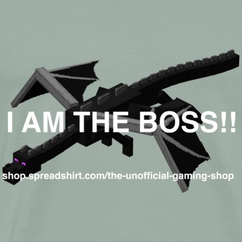 I AM THE BOSS!! - Men's Premium T-Shirt
