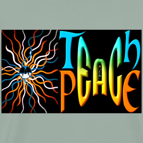 Teach Peace 3 - Men's Premium T-Shirt
