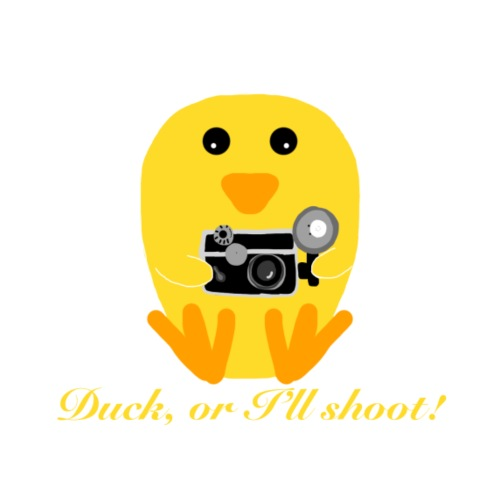 Photographer Duck shirt - Men's Premium T-Shirt