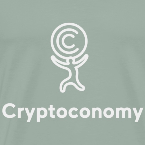 Cryptoconomy Logo - Men's Premium T-Shirt