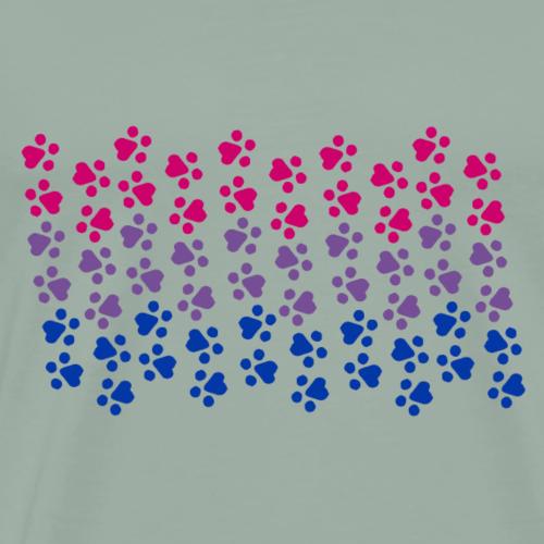 Kitten Bi Pride Flag - Men's Premium T-Shirt