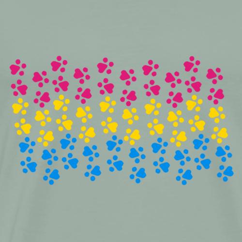 Kitten Pan Pride Flag - Men's Premium T-Shirt