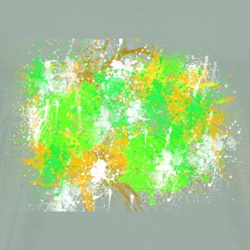 Halloween abstract Painting Design - Men's Premium T-Shirt