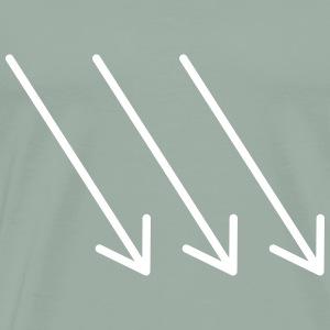 DON ADAS - mercy (variable colors!) - Men's Premium T-Shirt