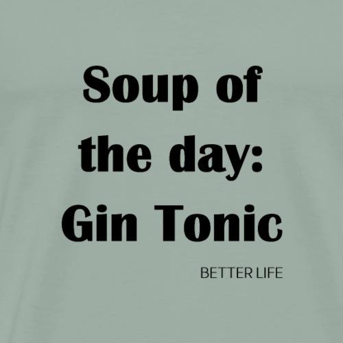 gin tonic - Men's Premium T-Shirt