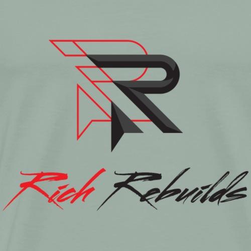 rich rebuids onlight - Men's Premium T-Shirt