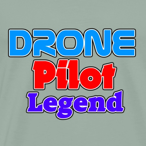 drone pilot legend - Men's Premium T-Shirt
