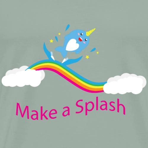 Make A Splash - Men's Premium T-Shirt