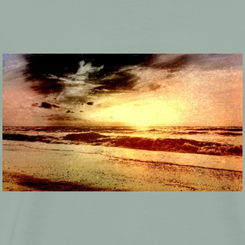 Old Photo Beach - Men's Premium T-Shirt