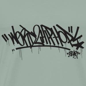 Word2HipHop - Men's Premium T-Shirt