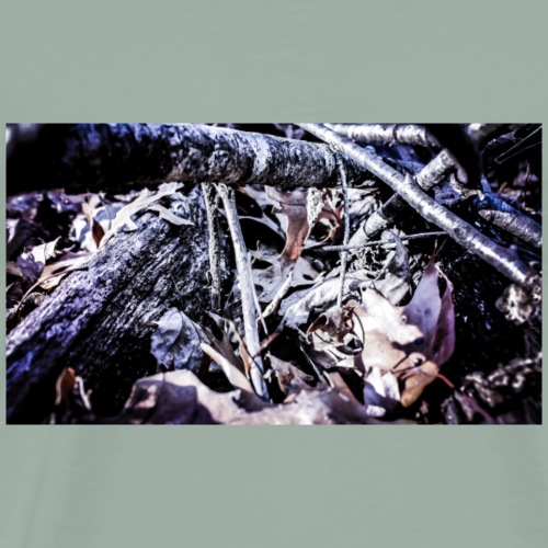 Sticks and Leaves - Men's Premium T-Shirt