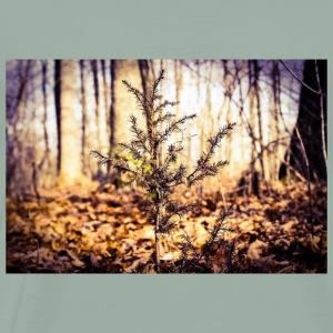 Small Little Tree In Nature - Men's Premium T-Shirt