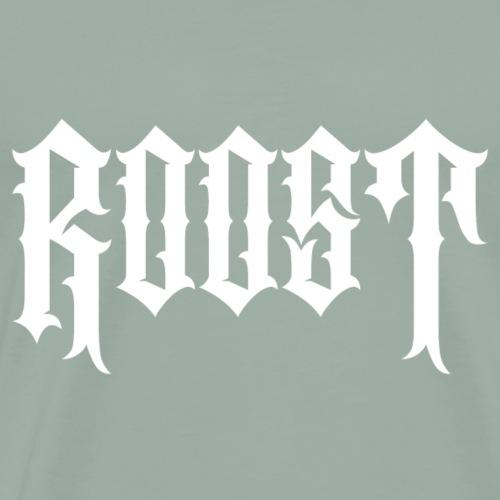 roost white logo - Men's Premium T-Shirt
