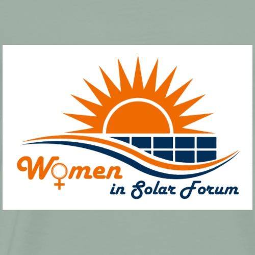 Women in Solar Forum Logo - Men's Premium T-Shirt