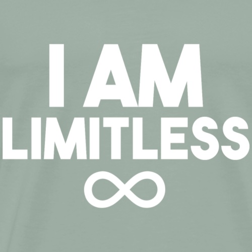 I AM Limitless Affirmation - Men's Premium T-Shirt
