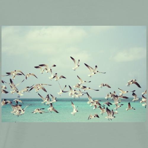 Beach Gulls - Men's Premium T-Shirt