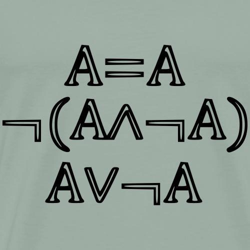 Laws of Logic - Men's Premium T-Shirt