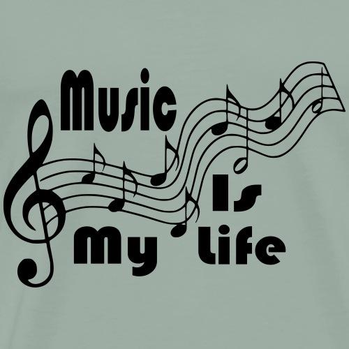 Music Is My Life - Men's Premium T-Shirt