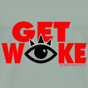 Get Woke - Men's Premium T-Shirt