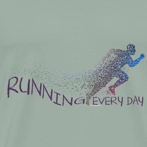 Running - Men's Premium T-Shirt