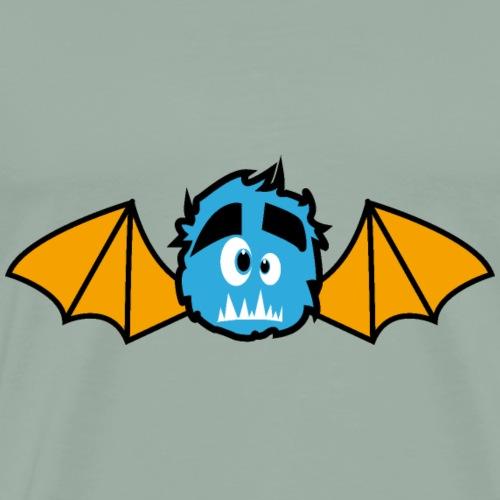 Halloweens little Monster Bats - Men's Premium T-Shirt