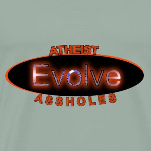 Atheist Assholes Full Logo - Men's Premium T-Shirt