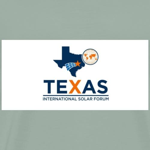 Texas International Solar Form Logo 2 - Men's Premium T-Shirt