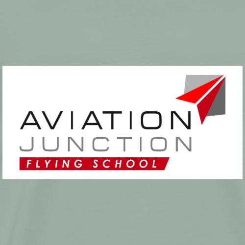 Logo AJ Flying School - Men's Premium T-Shirt