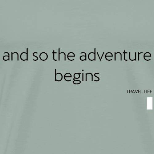 Travel - Men's Premium T-Shirt
