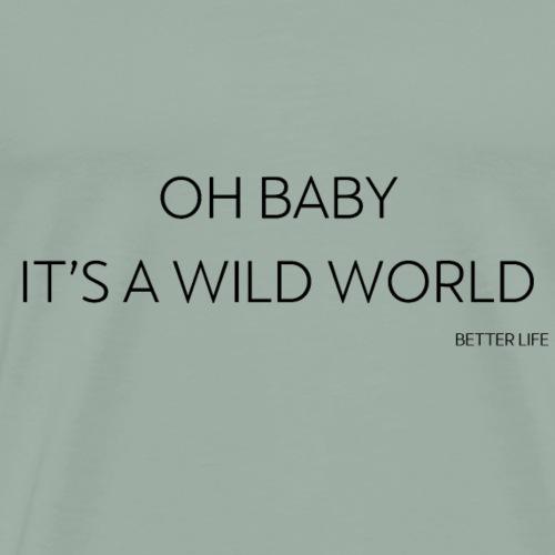 WILD Worls - Men's Premium T-Shirt