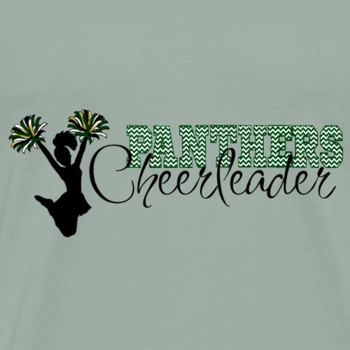 Panthers Cheerleader - Men's Premium T-Shirt