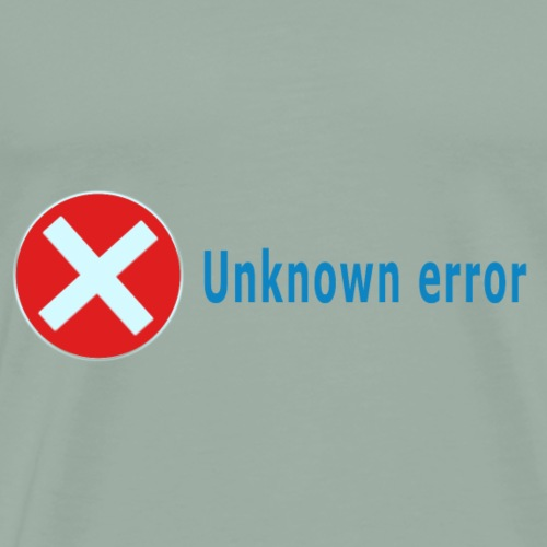 Unkown Error - Men's Premium T-Shirt
