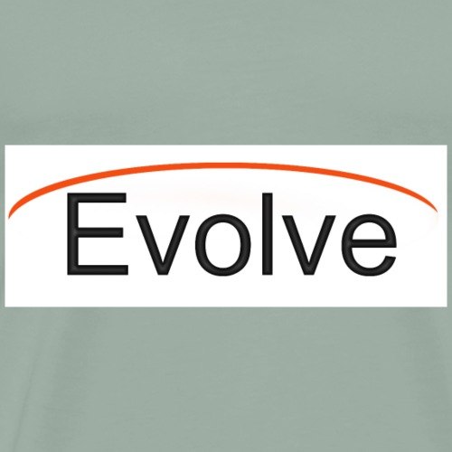 Evolve Simple Logo - Men's Premium T-Shirt