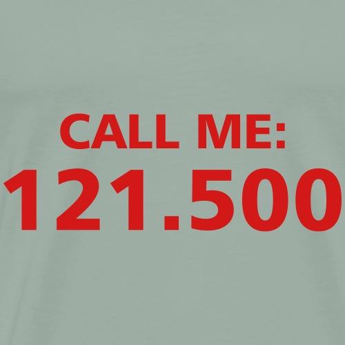 Call me Pilot Plane fly aircraft gift present - Men's Premium T-Shirt