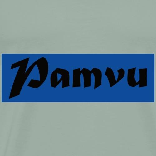 PamvuBlueBlack - Men's Premium T-Shirt