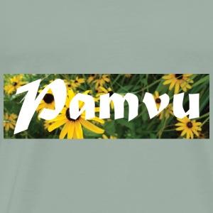 PamvuYellowFlower22 - Men's Premium T-Shirt