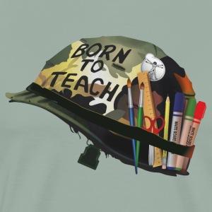 Born to teach Arts - Men's Premium T-Shirt
