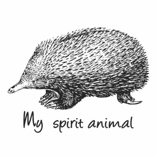 Echidna My spirit animal - Men's Premium T-Shirt