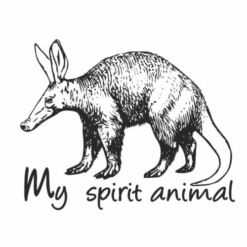 Aardvark My spirit animal - Men's Premium T-Shirt