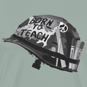 Born to teach B&W - Men's Premium T-Shirt