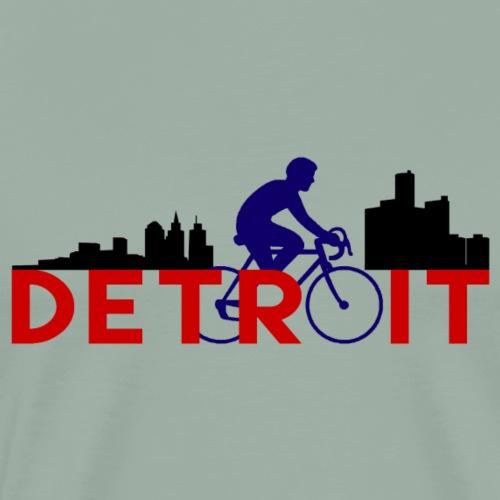 Cycle Detroit - Men's Premium T-Shirt