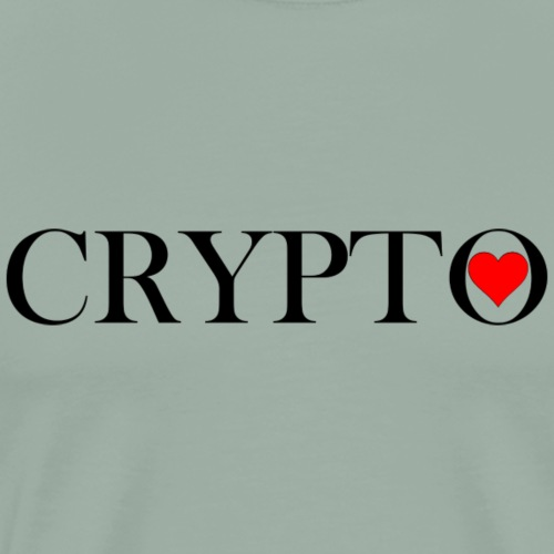 Crypto Heart t shirt - Men's Premium T-Shirt