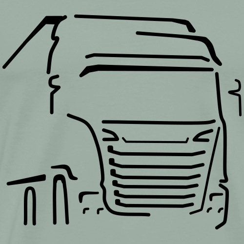 Transport Vehicle - Men's Premium T-Shirt