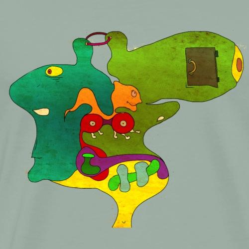 YouTube ArtPavelShatu Coffee Episode - Men's Premium T-Shirt