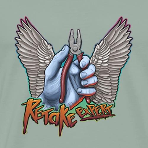retake expert - Men's Premium T-Shirt